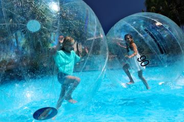 Water Balls at Opal Cove